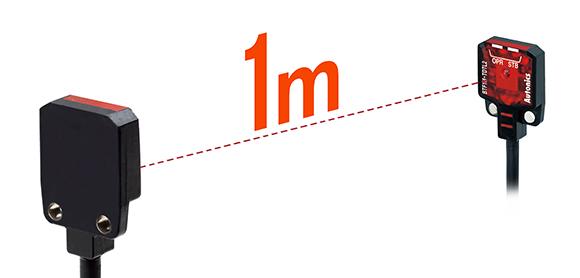 Jarak Deteksi Maksimal 1 m